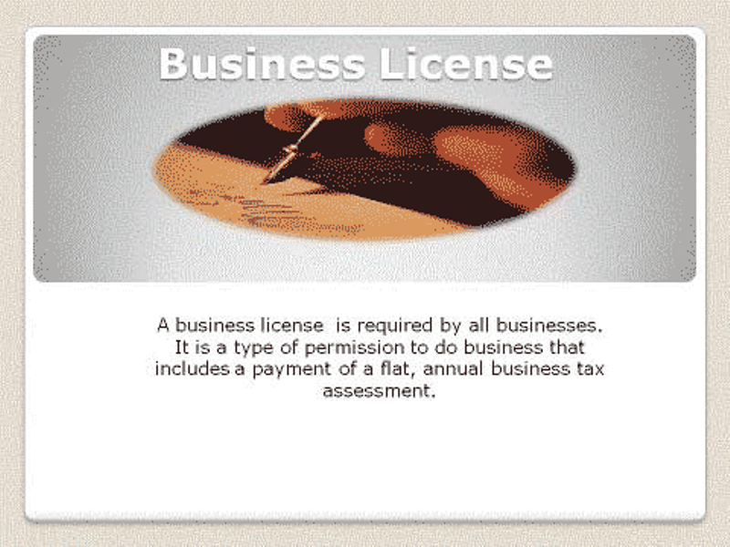 BusinessLicense